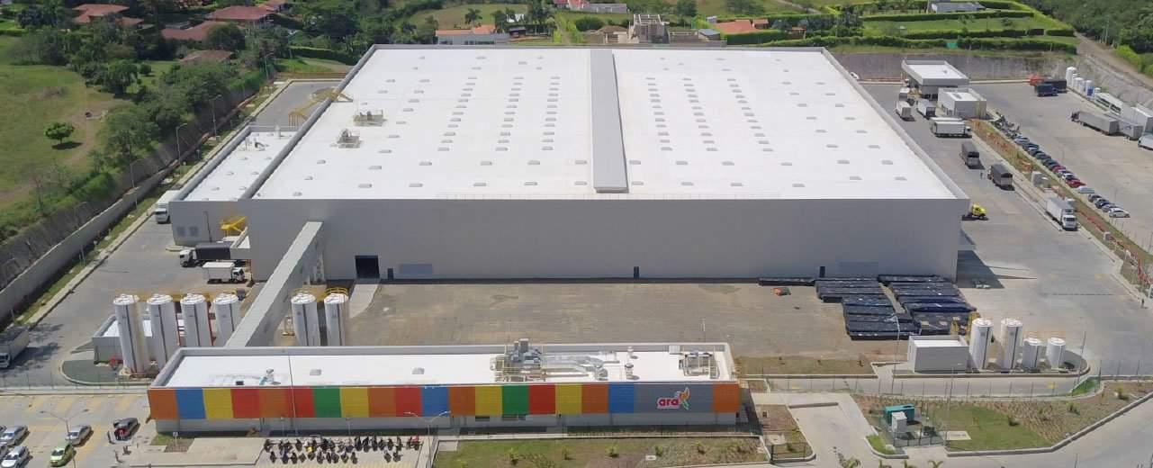 CEDI ARA diseño de aire acondicionado supermercados