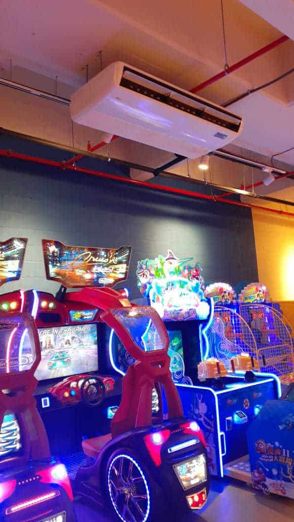 Playtime aire acondicionado centro comercial