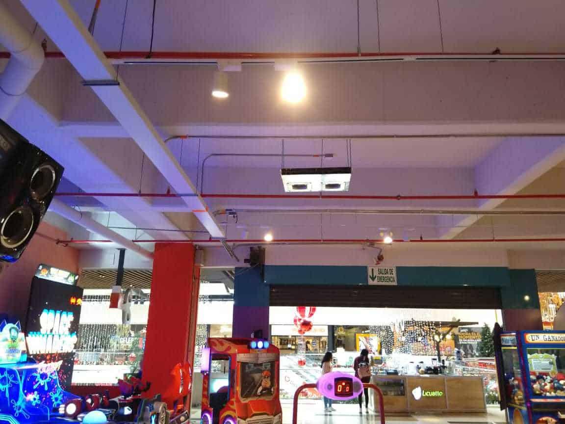 Playtime HVAC centro comercial