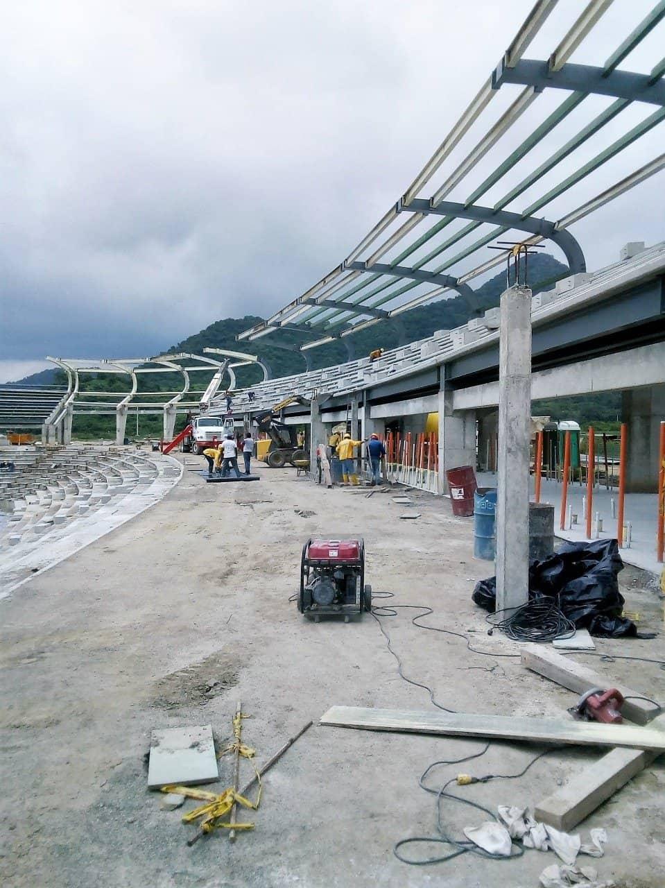 Estadio Sierra Nevada sistema aire acondicionado