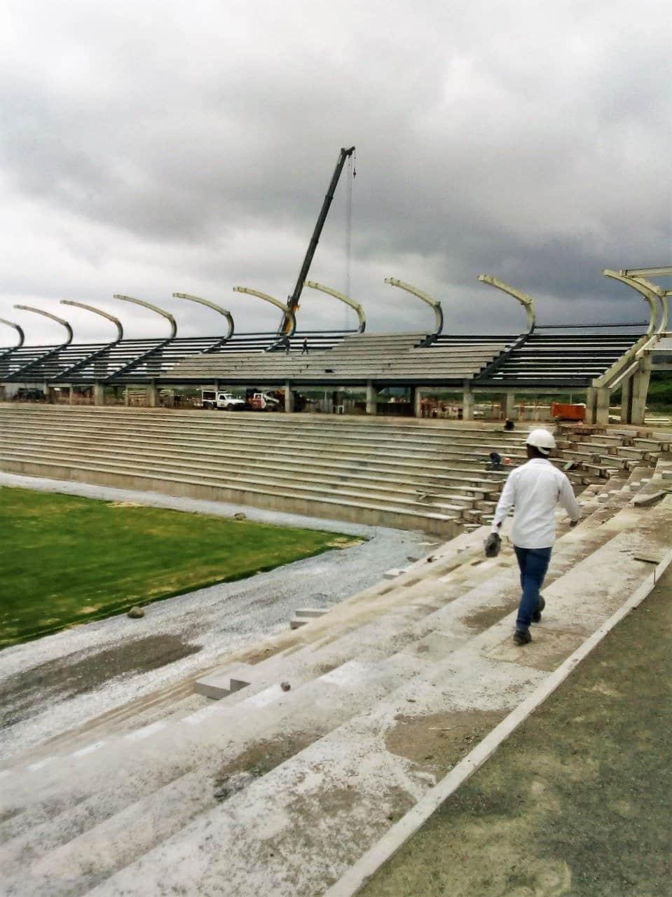 Estadio Sierra Nevada sistema de aire acondicionado