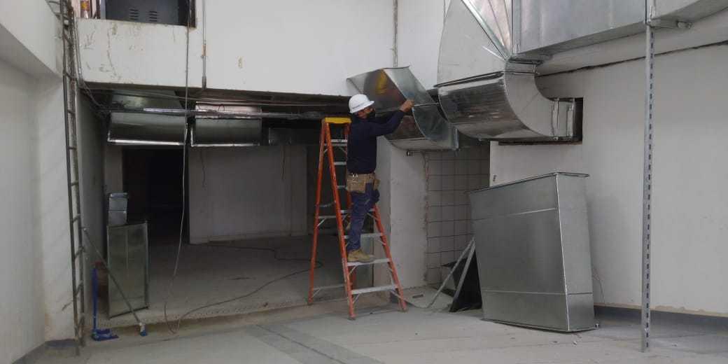 ductos para campanas extractoras