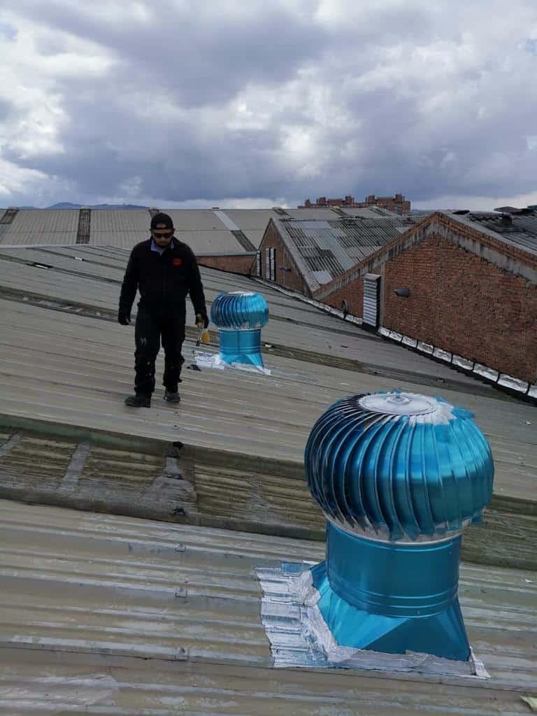 Frubana extraccion mecanica eolicos