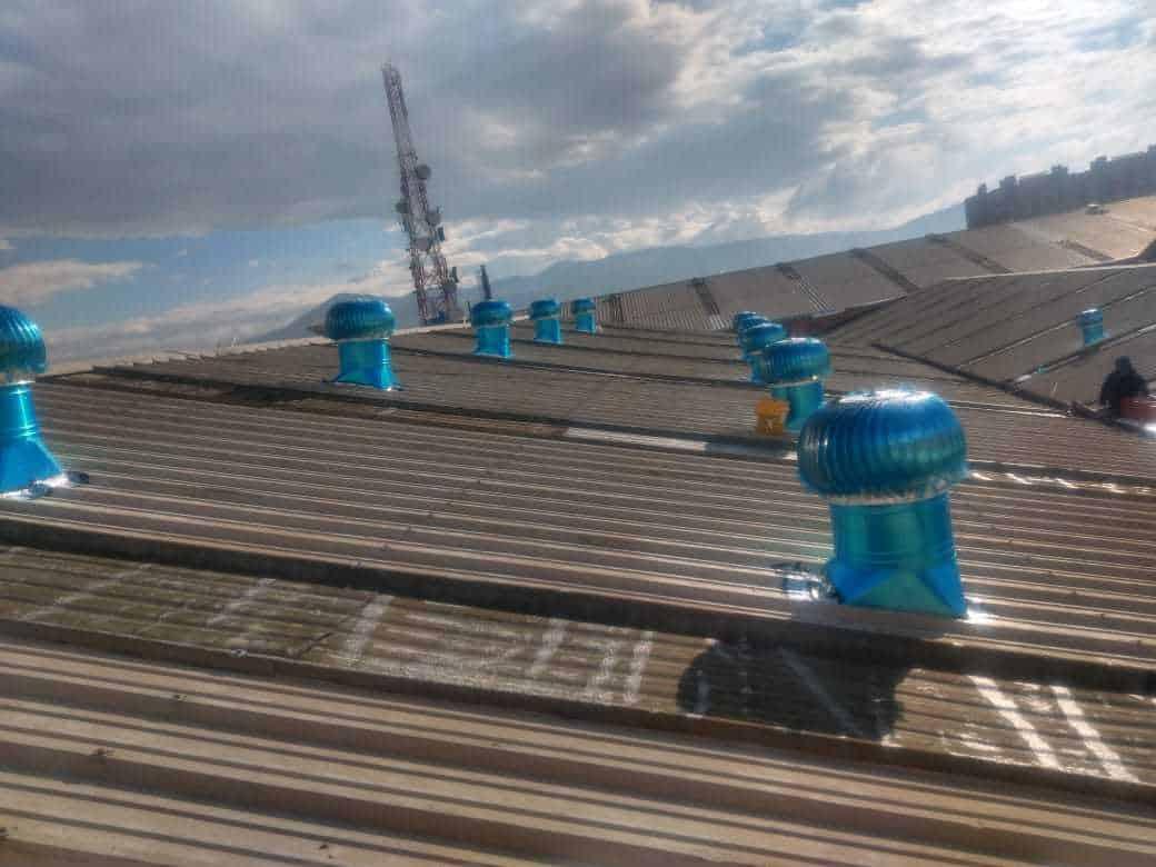 Frubana extractores eolicos industrial