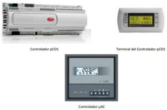 Características:  Control electronico integrado: